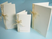 Ivory Linen  Wedding Stationery