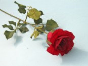 Single Artificial Rose Bud