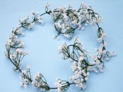 Artificial Gypsophelia Garland, 6ft