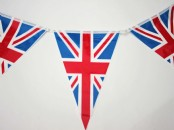 Union Jack Triangular Bunting
