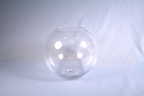7.75 Inch x 8 Inch Bubble Glass Vase - Make a Table Centerpiece