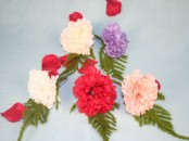 Artificial Carnation Corsage