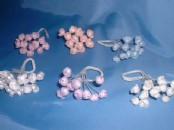 Craft Flower - Pearl  Buds x 6