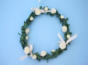 Small  Bridesmaid Rose  Hoop  20cm