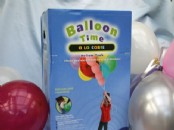 "Balloon Gas  Kit  for 30x9"" balloons."