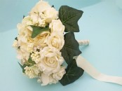 Artificial Rose Bridal Bouquet