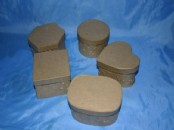 Craft Boxes -  Mini Embossed Box   x 10