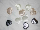 Large Padded Hearts