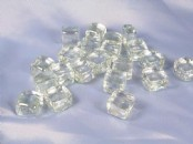 Glass Artificial Ice Cubes  1 Kilo  (approx.)