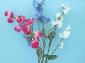 Artificial Sweet Pea Stem