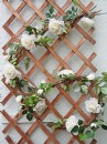 Artificial 6ft  Premium Rose Garland with Vine