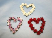 Paper Flowers - Flower Heart -Small
