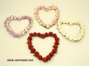 Paper Flowers - Large Flower Heart
