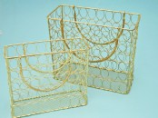 Wire Mesh Handbag Set of 2