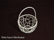 Decorative Round Wire Baskets