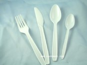 Mixed Plastic Cutlery