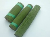 Green  Lacquered Stub Wire 2.50 kilos , 22swg