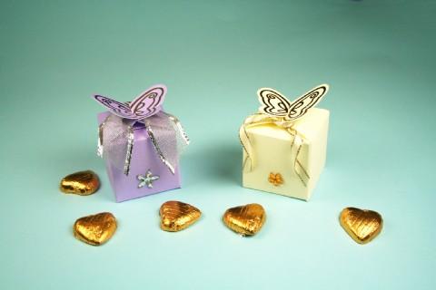 free silver wedding favor box sample purple and blue wedding cakes ideas