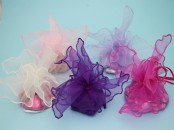 Organza Draw String Favour Bag x 10