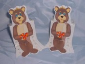 Girl  Bear Favour Boxes x 10