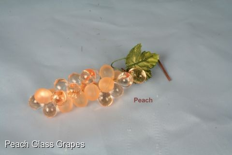 "GRAP1 - Mini  ""Glass""  Grapes"