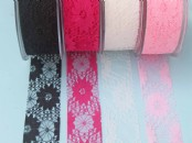 Floral Lace Ribbon 38mm x 5meters