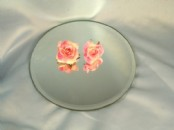 25cm Round  Table Mirror Plates