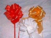 Florist Ribbon  Pull Bows 30 mm  x 30