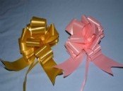Florist  Ribbon Pull Bows  50mm x 5