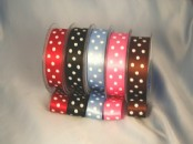 Polka Dot Ribbon 25mm x 20m