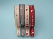 Vintage All My Love Grosgrain  Ribbon 15mm x 5m
