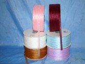 Chiffon Striped 7mm Ribbon (25m)