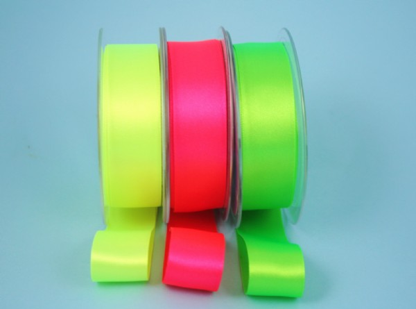 Satin Ribbon FLOURESCENT