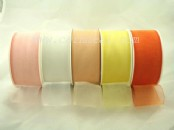 Highlight Chiffon Ribbon  (40mm wide) x25yards