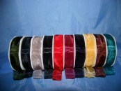 Chiffon Ribbon unwired (25 wide) x 20meters