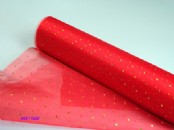 Chiffon/Organza with Glitter Dot 29cm wide x 10m