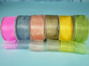 38mm Chiffon/Organza Ribbon  x 25 yds