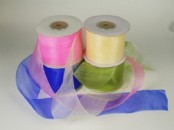 50mm Chiffon/Organza Ribbon x 25 yds