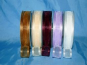 Chiffon Square Edged Ribbon x 20mm (25m)