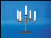 Five Light Twisted Candelabrum