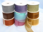 Chiffon Ribbon x 38mm wide (25yds)