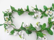 Artificial Blossom Garland