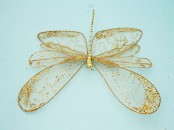 Glittered Artificial  Dragonfly 37cm