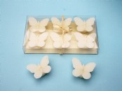 Glitter Floating Butterfly  Candles x 6