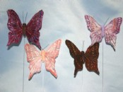 Medium Fantasy Butterflies x 12