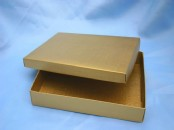 Large Gold Box  and Lid