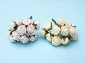 Small Foam Rose Bunch x 12