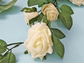Foam Rose Garland